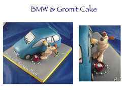 BMW and Gromit Cake