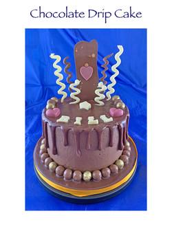 Bill's Chocolate Drip Cake