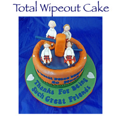 Total Wipeout Cake
