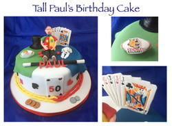 Tall Paul's Birthday Cake
