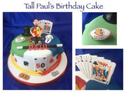 Tall Paul's Birthday Cake