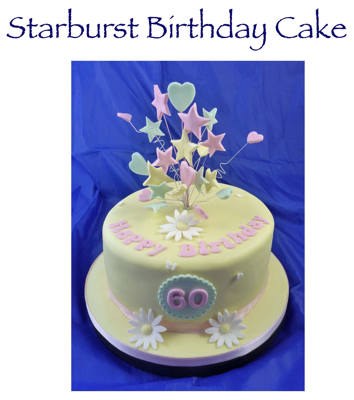 Starburst Cake