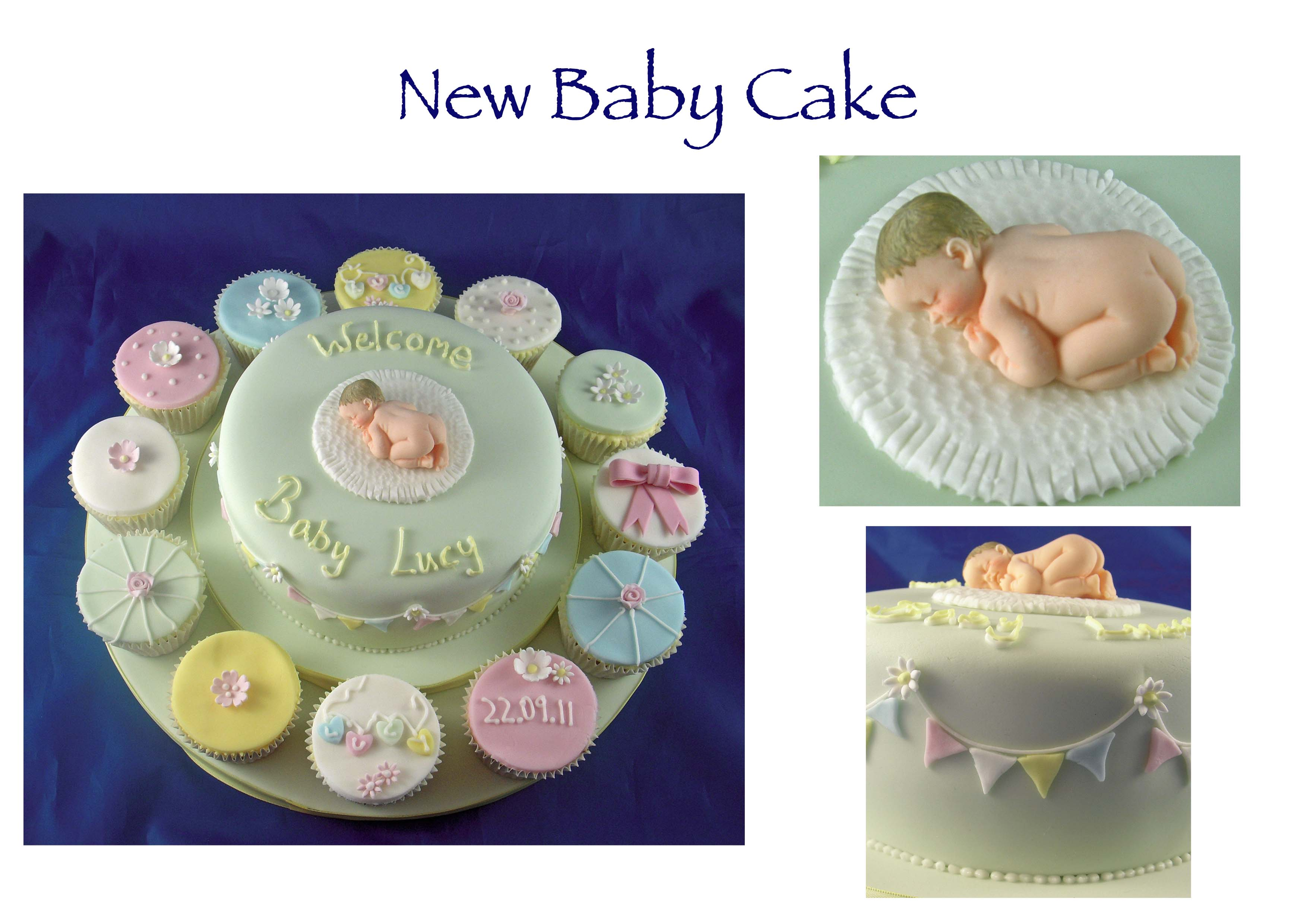 Baby Lucy Cake