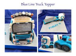 Blue Line Truck Topper (2019)