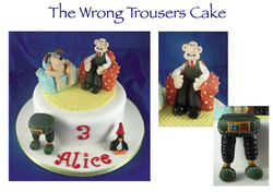 The Wrong Trousers Cake