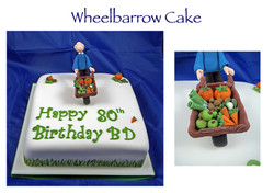 Wheelbarrow Cake