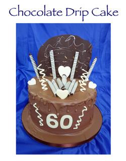 Chocolate Drip Cake (Janet Coates)