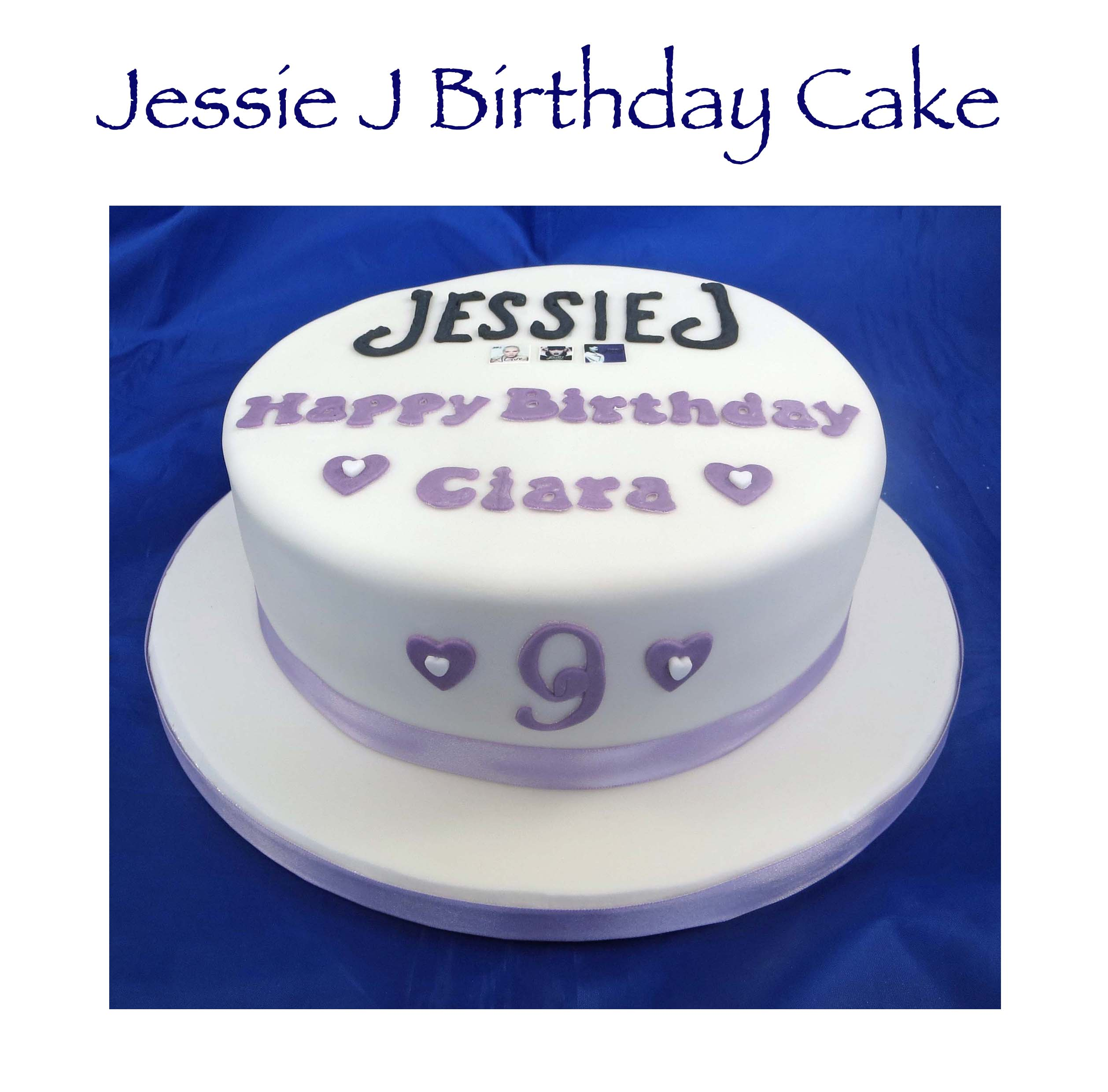 Jessie J Birthday Cake