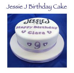 Jessie J Birthday Cake