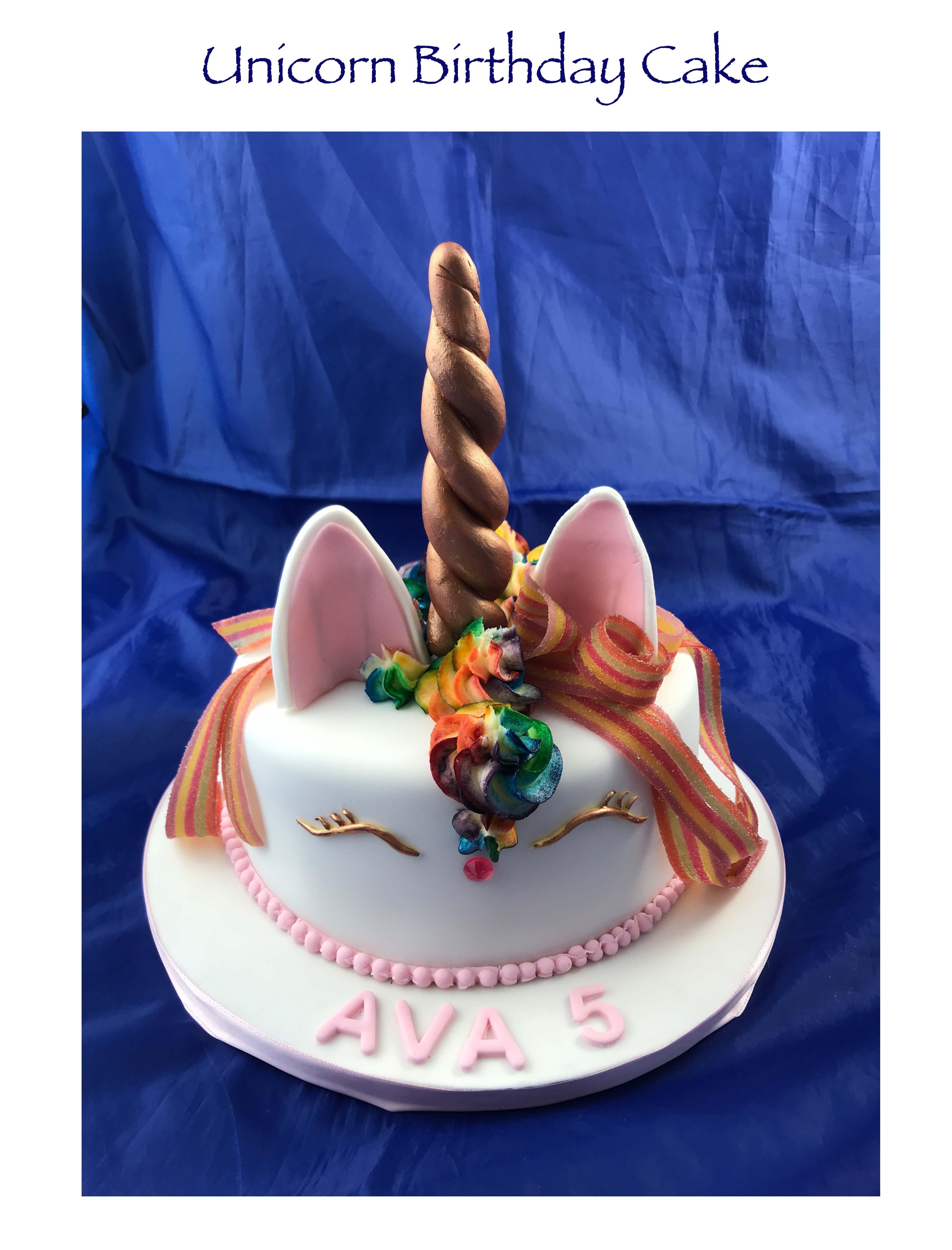Unicorn Cake (Ava)