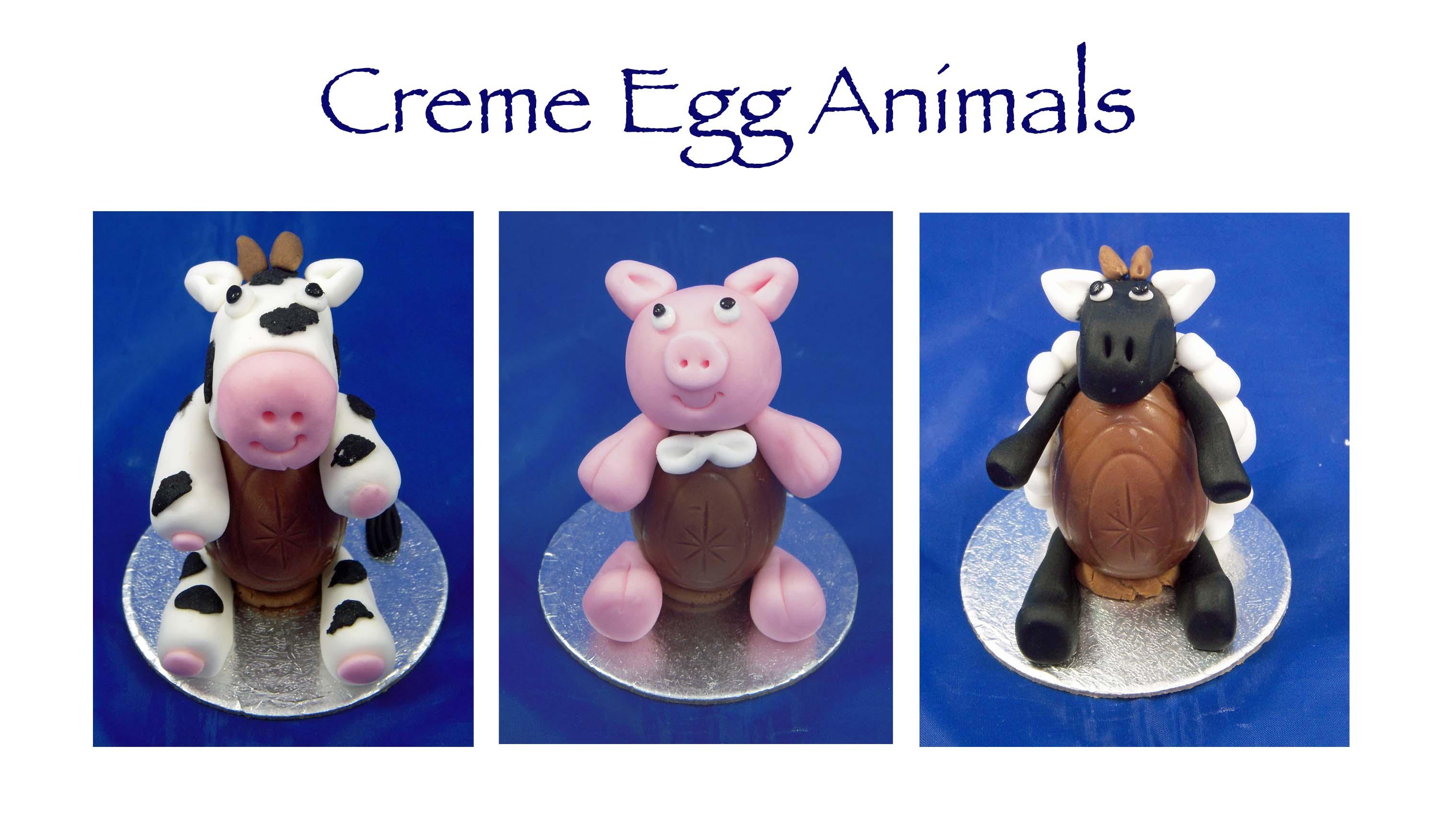 Creme Egg Animals 4
