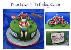 Bike Lover's Cake