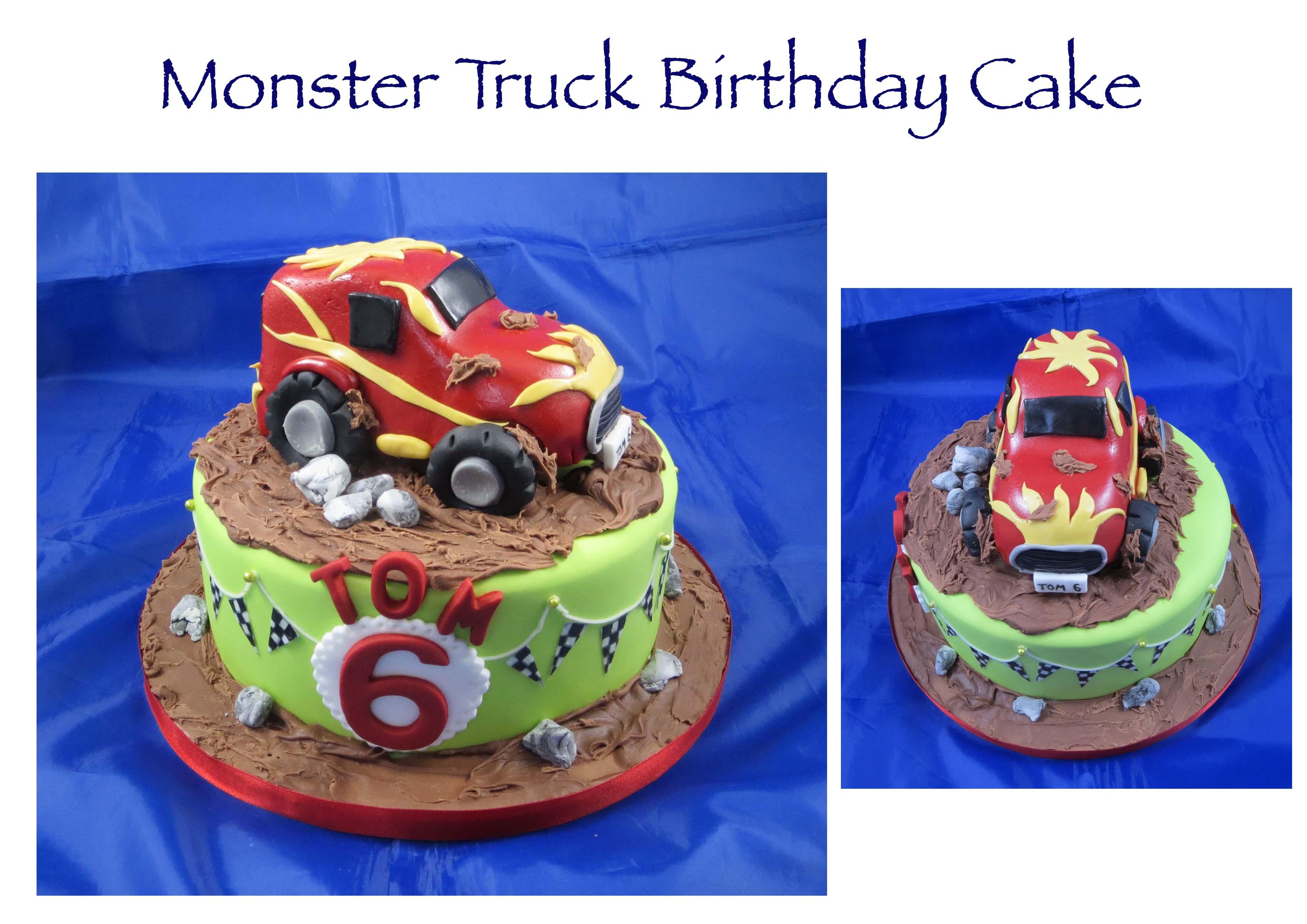 Monster Truck Cake 2