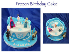 Frozen Birthday Cake (Isabella)