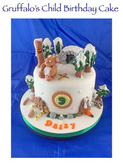 Gruffalo's Child Birthday Cake