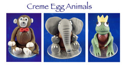Creme Egg Animals