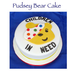 Pudsey Bear Cake