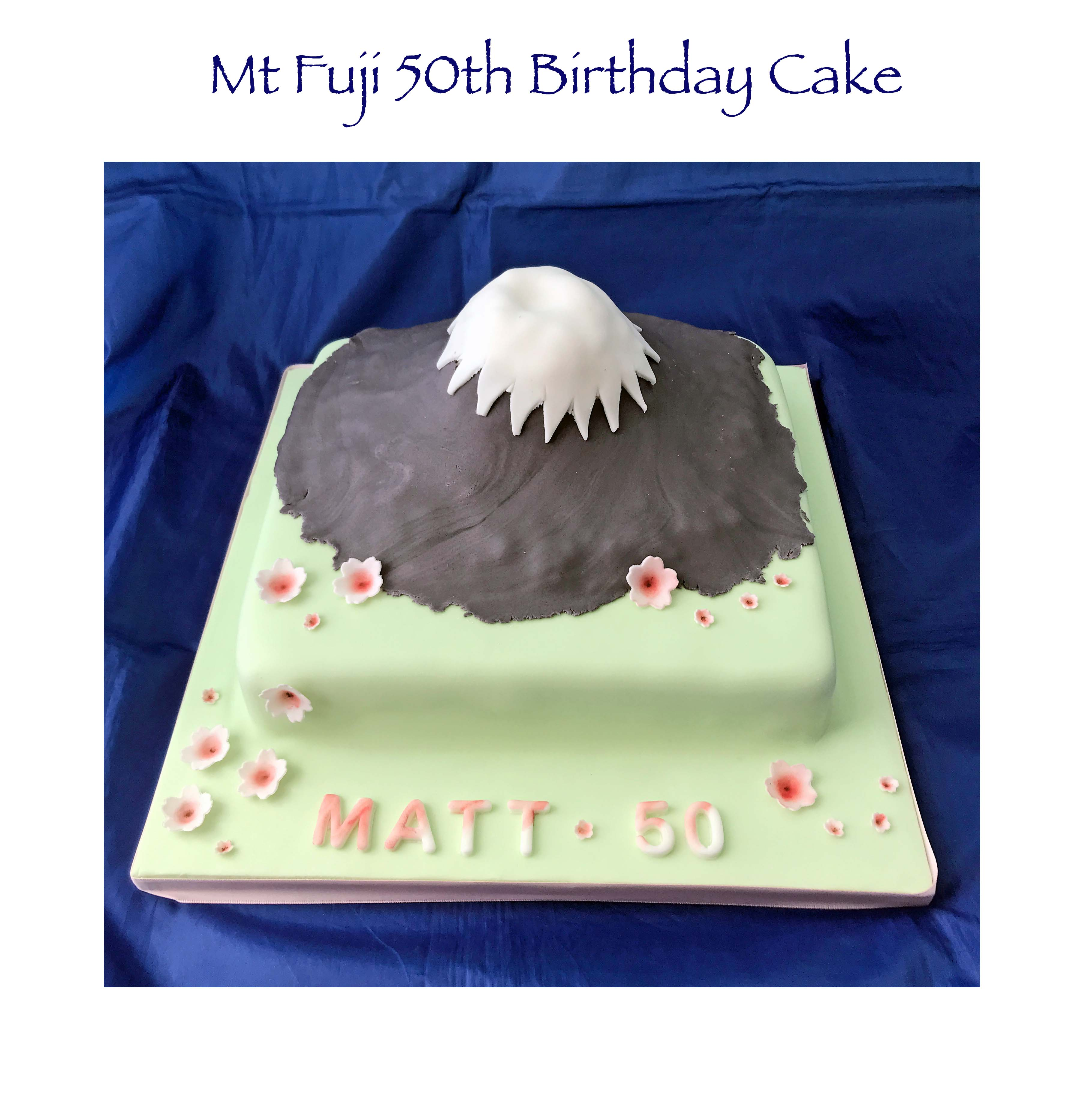 Mt Fuji Cake