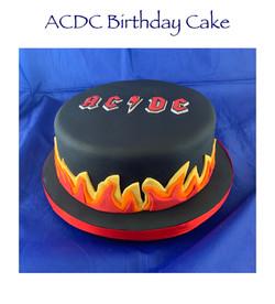 ACDC cake