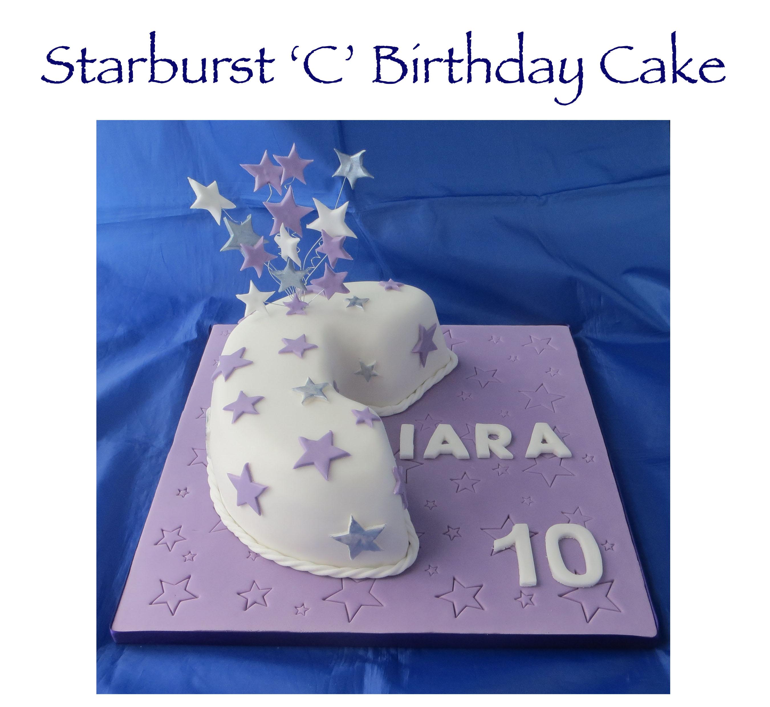 Starburst C Cake