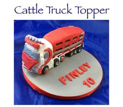 Cattle Truck Topper