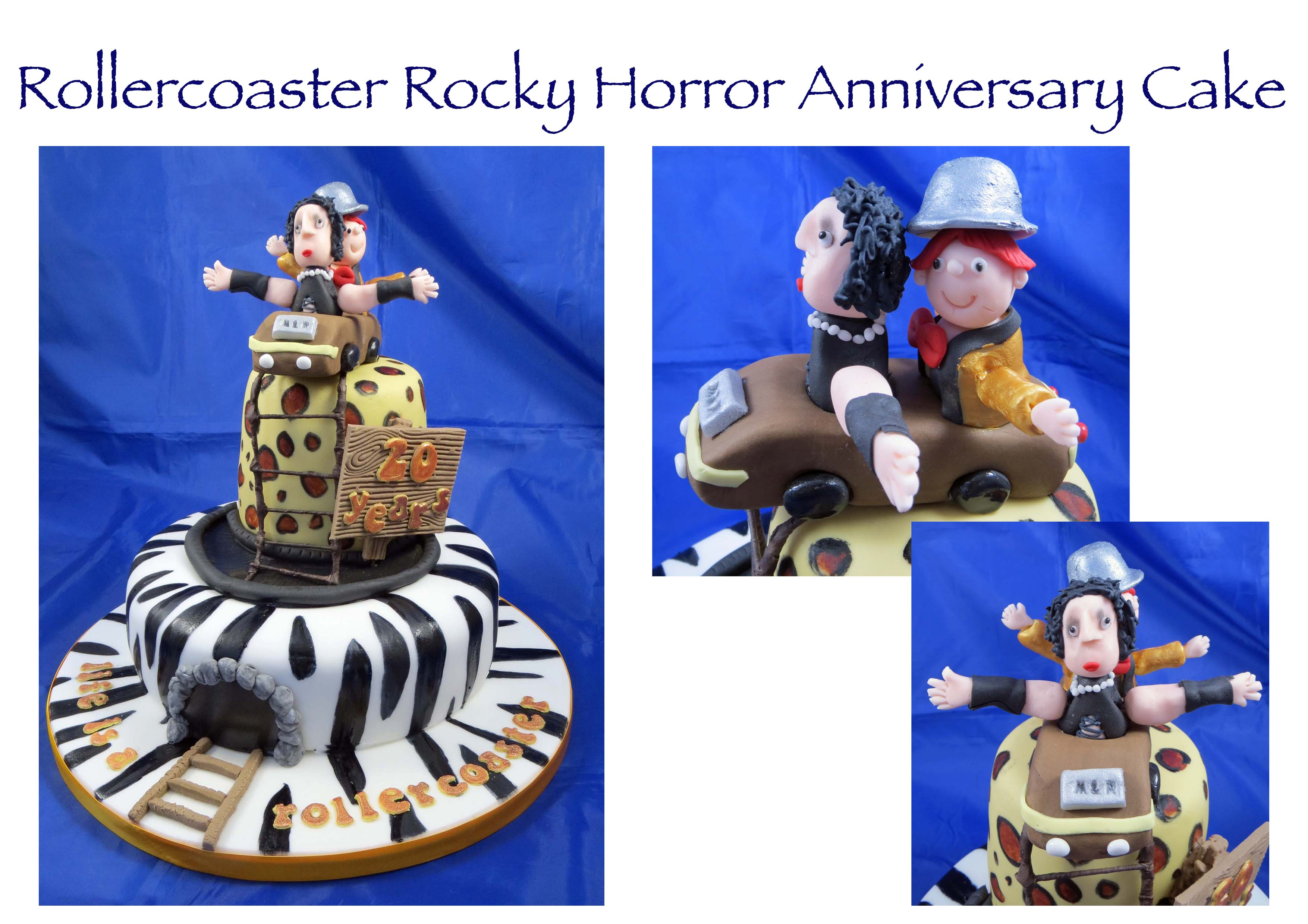 Rocky Horror Rollercoaster Anniversary Cake