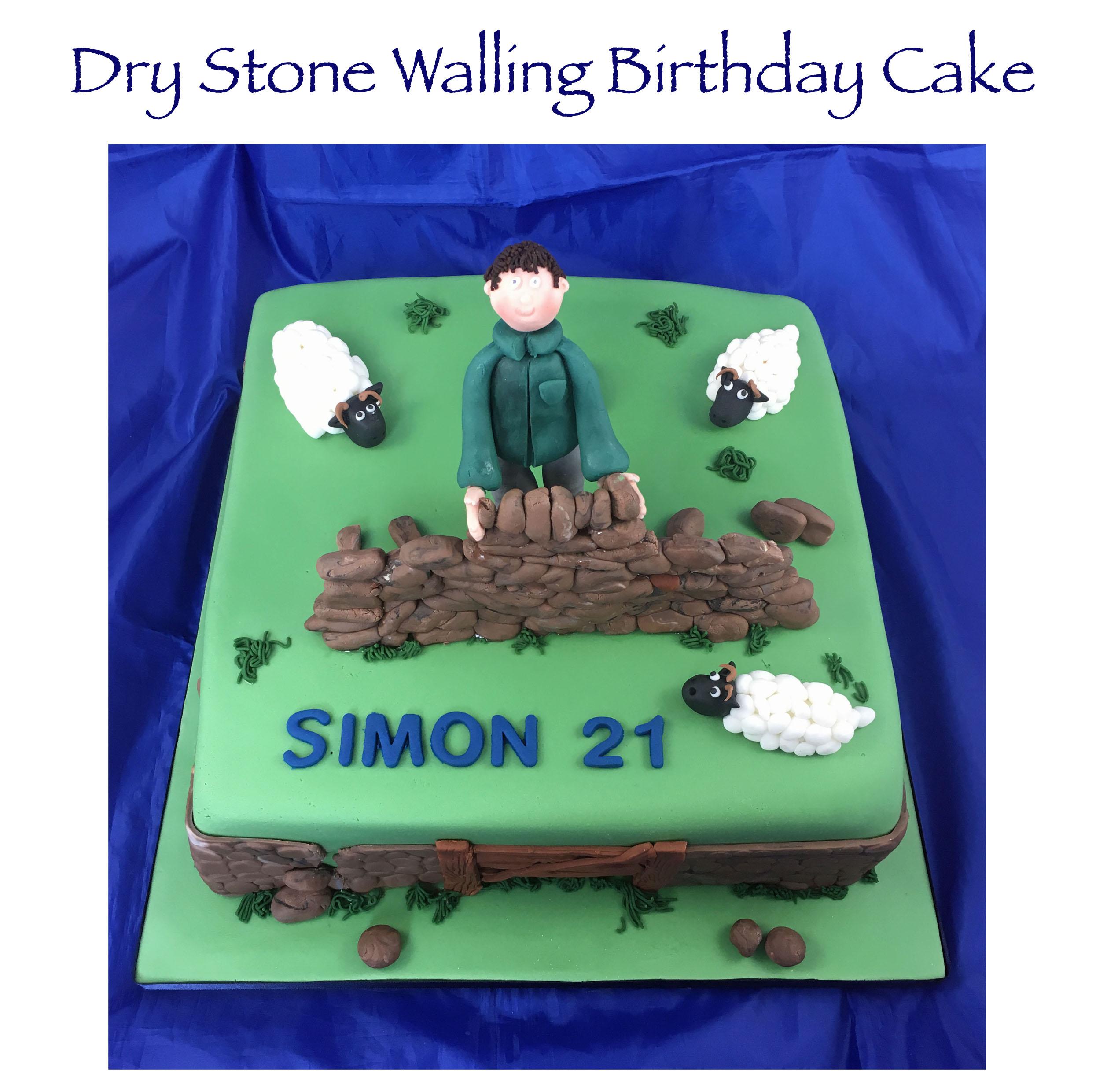 Dry Stone Walling Cake