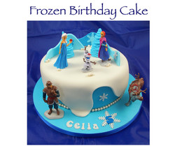 Frozen (Celia) Birthday Cake