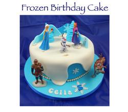Frozen (Celia) Birthday Cake