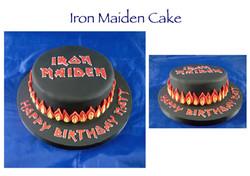 Iron Maiden Cake