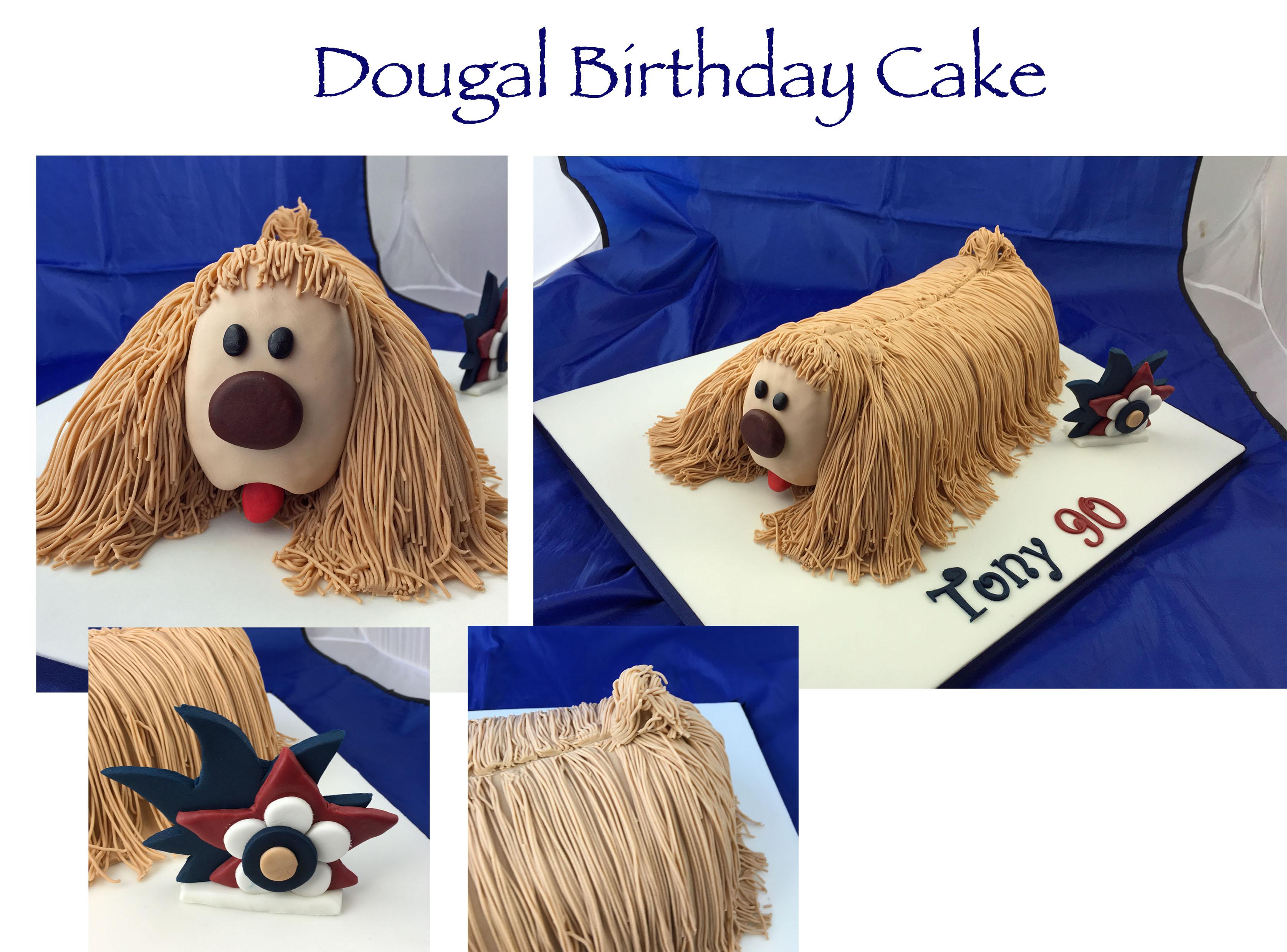 Dougal Birthday Cake