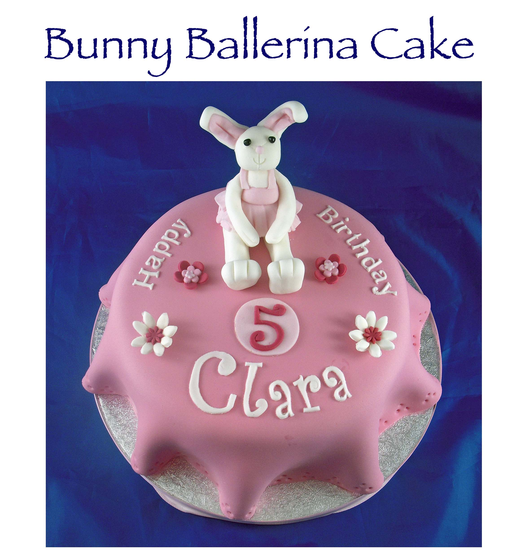 Bunny Ballerina Cake