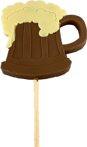 Beer Tankard Chocolate Lolly