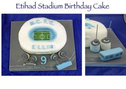 Etihad Stadium Cake