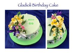Gladioli Cake