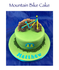 Mountain Bike Cake 2