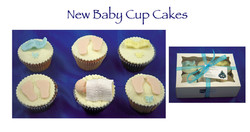 New Baby Cupcakes (Claire)