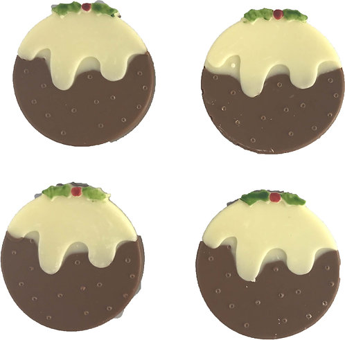 Chocolate Christmas Puddings