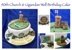 90th Church & Ugandan Well Cake
