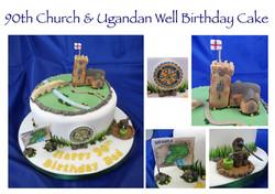 90th Church & Ugandan Well Cake