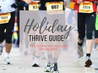 How To Thrive During The Holidays
