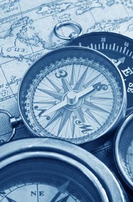 Compass a map