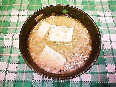 納豆と豆腐の塩糀チゲ
