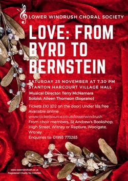 Love: from Byrd to Bernstein