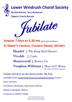 Jubilate Concert