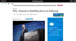 Amazon is doubling down on lobbying