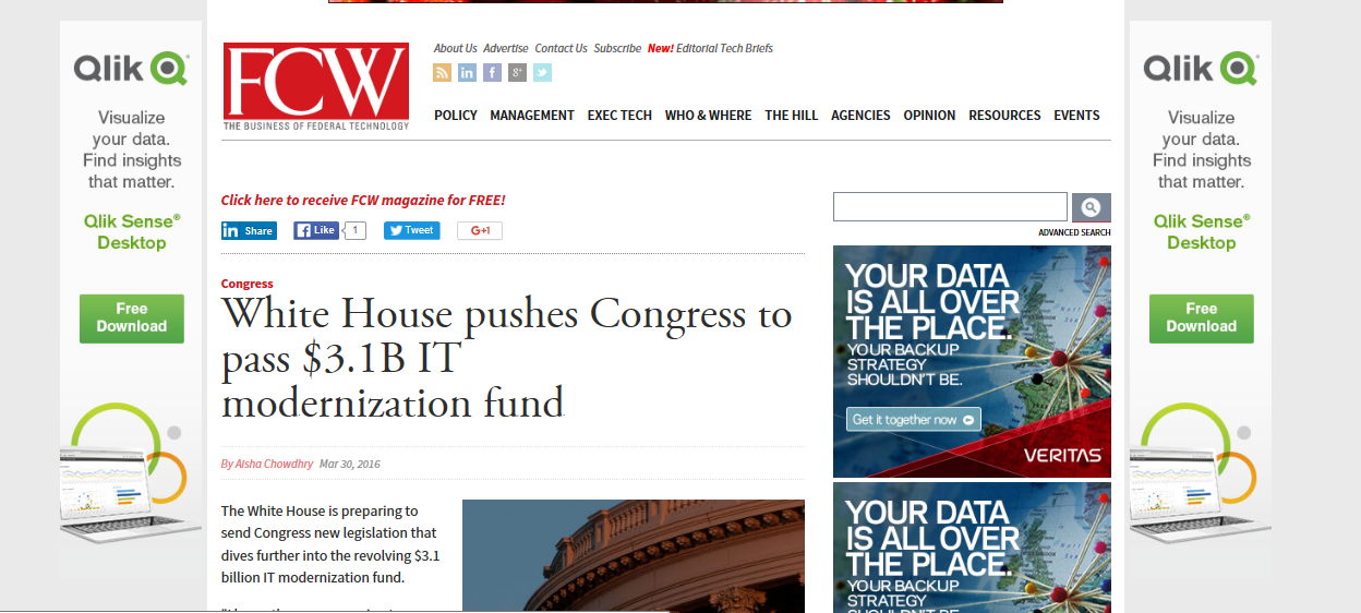 Congress to pass IT fund