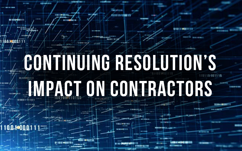 Continuing Resolutions Impact on Contractors