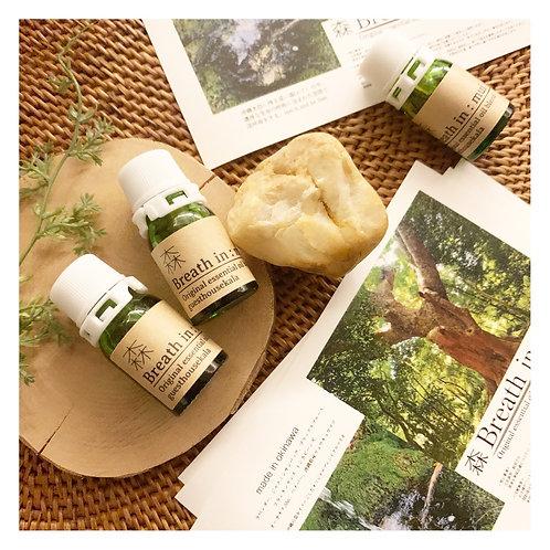 Breath in :mui 森 -original essential blend oil-