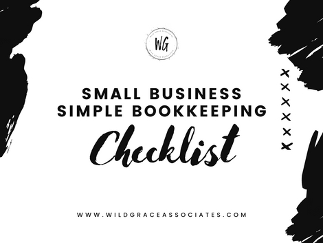 Small Business Bookkeeping FREE Checklist